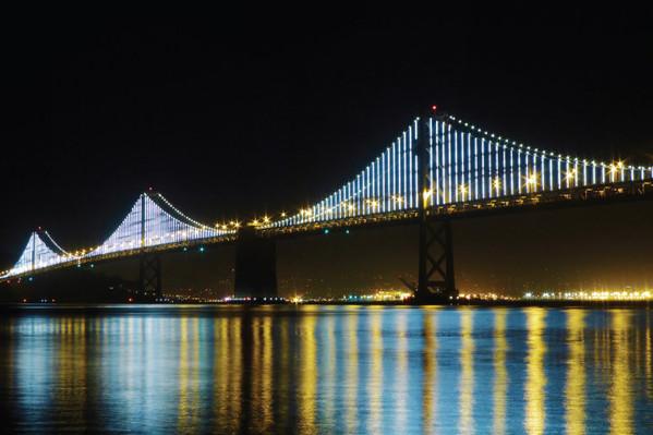 San Francisco Double Decker bus tour by night
