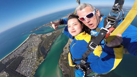 Skydive Newcastle 15,000ft Tandem Skydiving