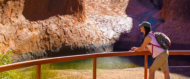 Uluru–Kata Tjuta National Park entry