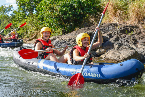 Tully River White Water Rafting - Mission Beach Backpacker Deals