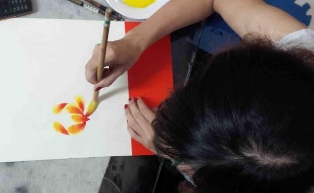 watercolor class hanoi tour deals