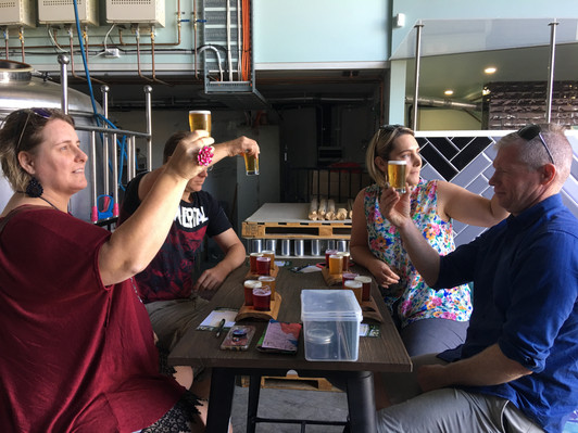 Quickie on the Coast Brewery Tour