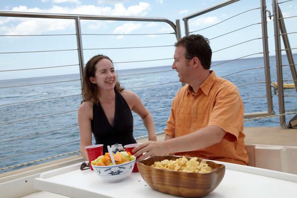 Sailing catamaran Spirit of Aloha