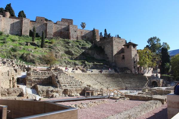 Roman Theater Malaga Walking Tour