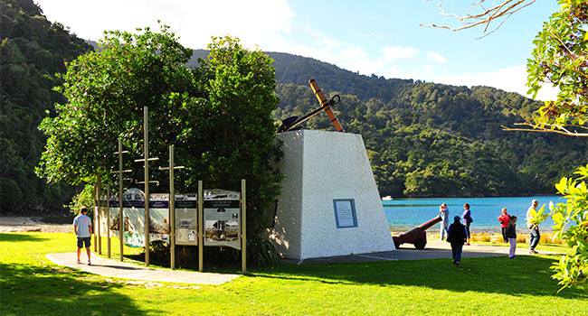 Picton to Ship Cove Cruise