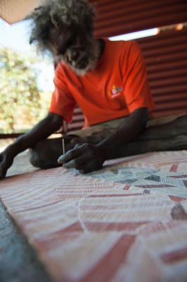 Park Trek Arnhem Land and Kakadu five-day walking tour - Aboriginal painting.jpg