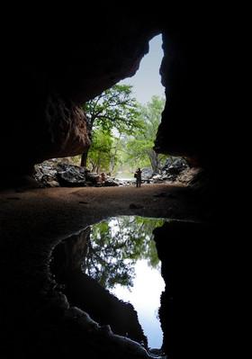 Limestone caves Kimberley region
