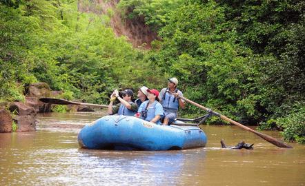 River Float at Corobici River