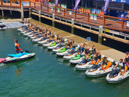 Gold Coast Jet Ski Safari 30 min