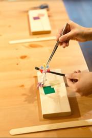 Tsumami-Zaiku Craft Workshop in Kyoto