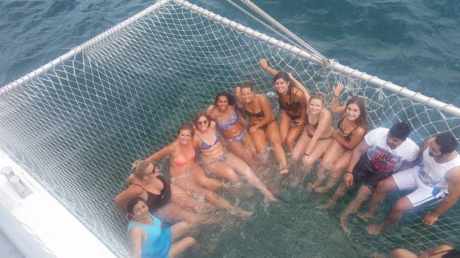 Net Swimming