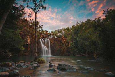 Cedar Creek Falls & Coral Sea Resort Pool Adventure