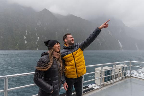 Milford Sound from Te Anau
