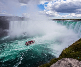 Day Trip by Air - New York City to Niagara Falls