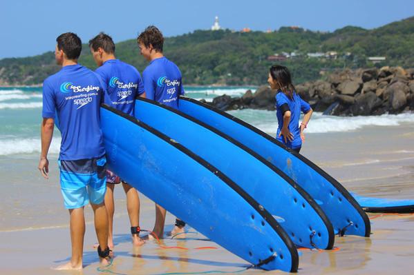 Sydney surfing tours