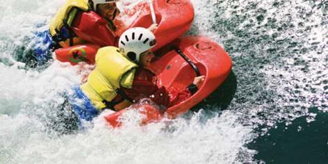 Kaituna River White Water Sledging - Rotorua