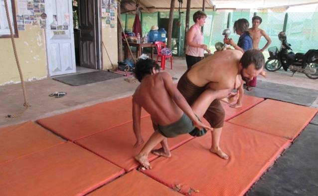 cambodian fighting style