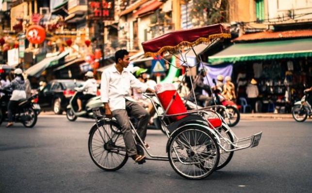 cyclo tour ho chi