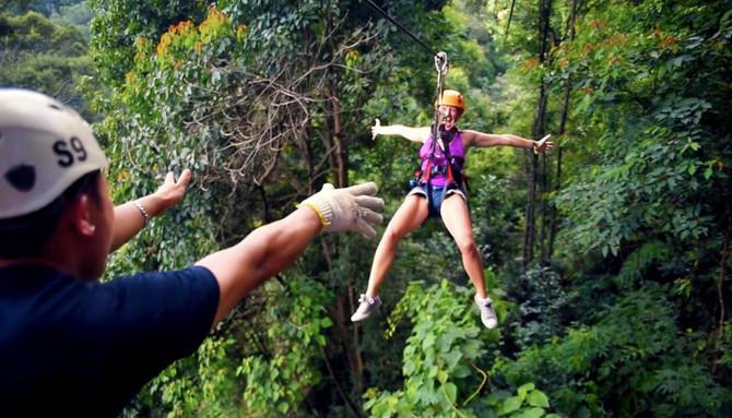 ziplining thailand discount