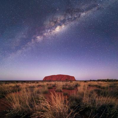 Uluru Milky Way