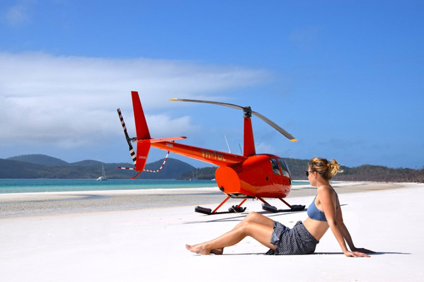 Airlie Beach helicopter tour voucher