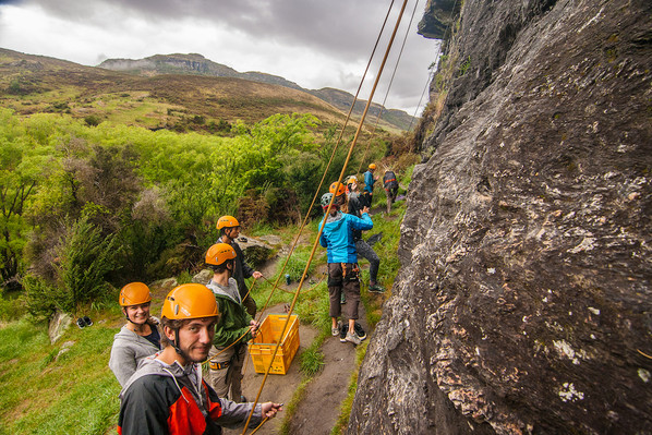 rock climbing wanaka nz fun