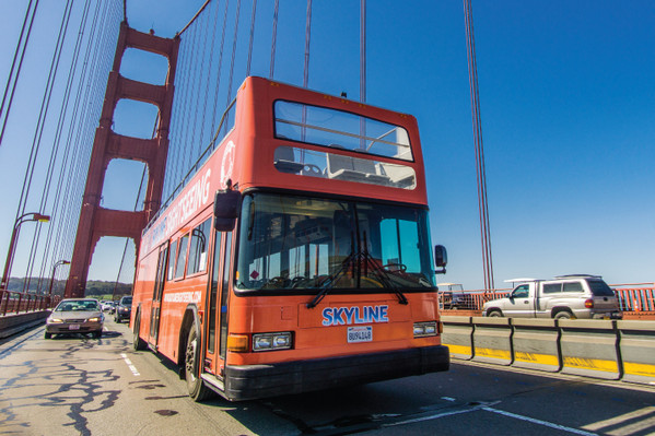 Hop-on Hop-off Bus San Francisco