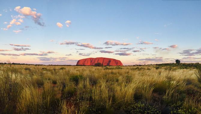 Uluru Camping under the stars