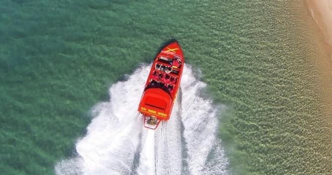jet boat plus lunch gold coast
