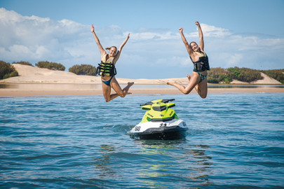 Gold Coast Jet Ski Tour And Hot Air Balloon Ride