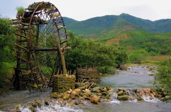 Pu Luong Waterwheel tour