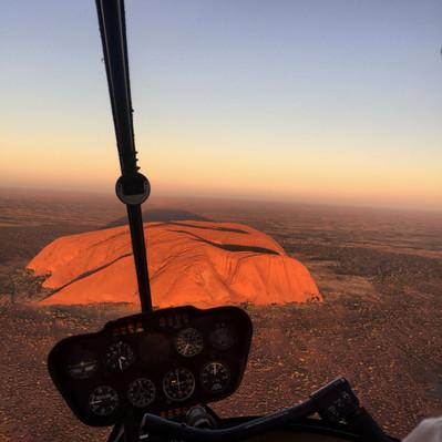 Uluru Sunset helicopter