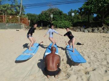 Beginner Surf Lesson North Shore