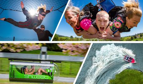 Velocity Valley - Rotorua VIP Adventure Pass - Choose 5 Activities