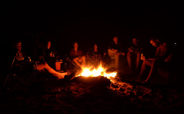 Campfires in the Outback