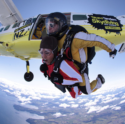 Skydive New Zealand voucher