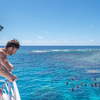 Outer Great Barrier Reef Snorkel Tour