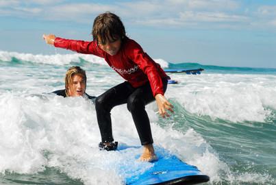 55 Minute Jet Boat + 2 Hour Surf Lesson