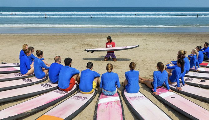 bali surf lesson discount