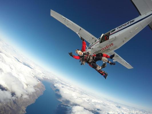NZONE Skydive - Exit.JPG
