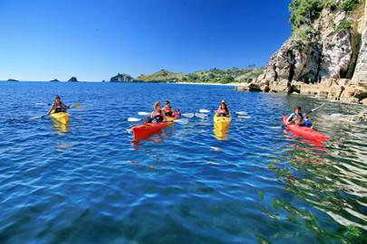 Remote Coast Kayak Tour