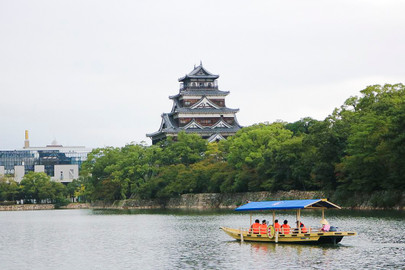 Hiroshima Castle Sightseeing Boat Tour