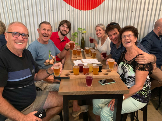 Brisbane beer and axe throwing