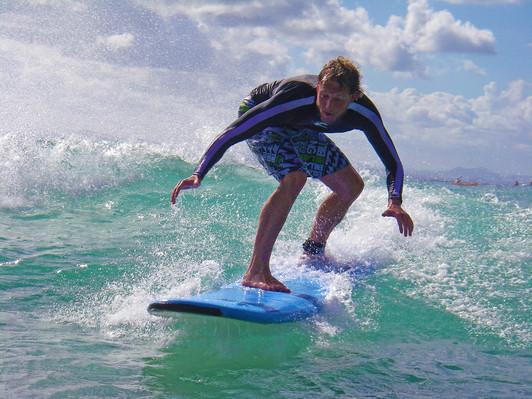byron bay surf day