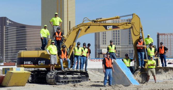 Las Vegas Heavy Equipment Playground