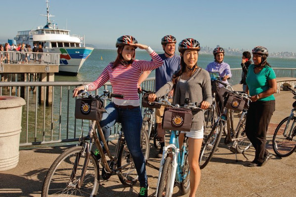 San Francisco Self Guided Bike Tour specials