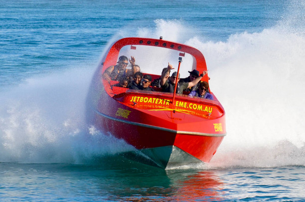 jet boat and helicopter Combo Gold Coast