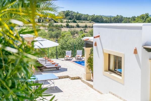 Ibiza villa accommodation