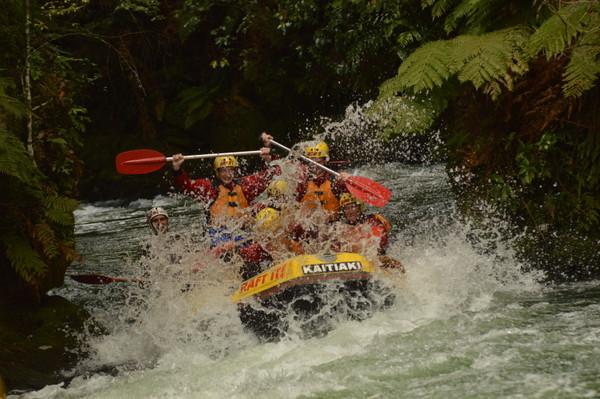 Rotorua rafting adventure