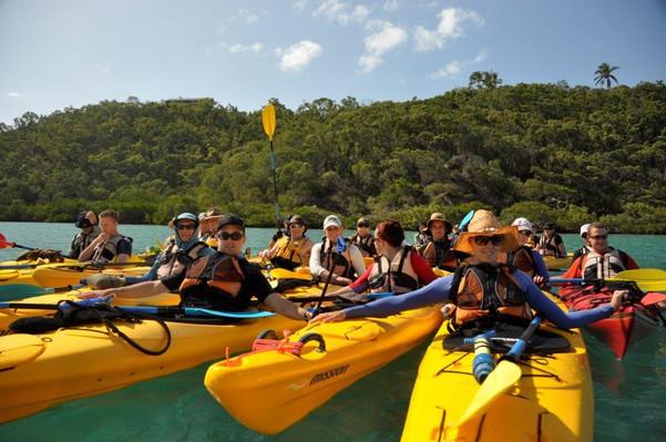 Full Day Tropical Island Sea Kayak